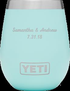 Kleinfeld Bridal customized Yeti Wine Tumbler