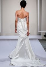 Beaded Sweetheart Strapless Fit And Flare Wedding Dress by Dennis Basso - Image 2