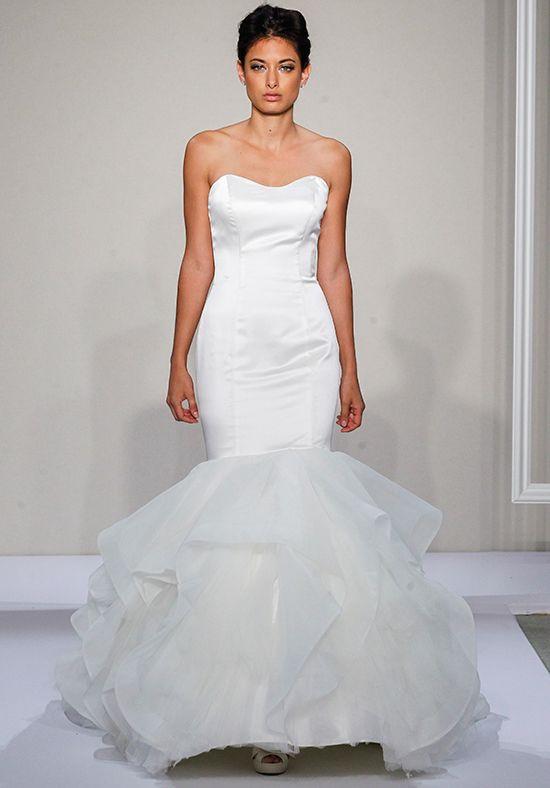 Mermaid Wedding Dress with Ruffle Skirt