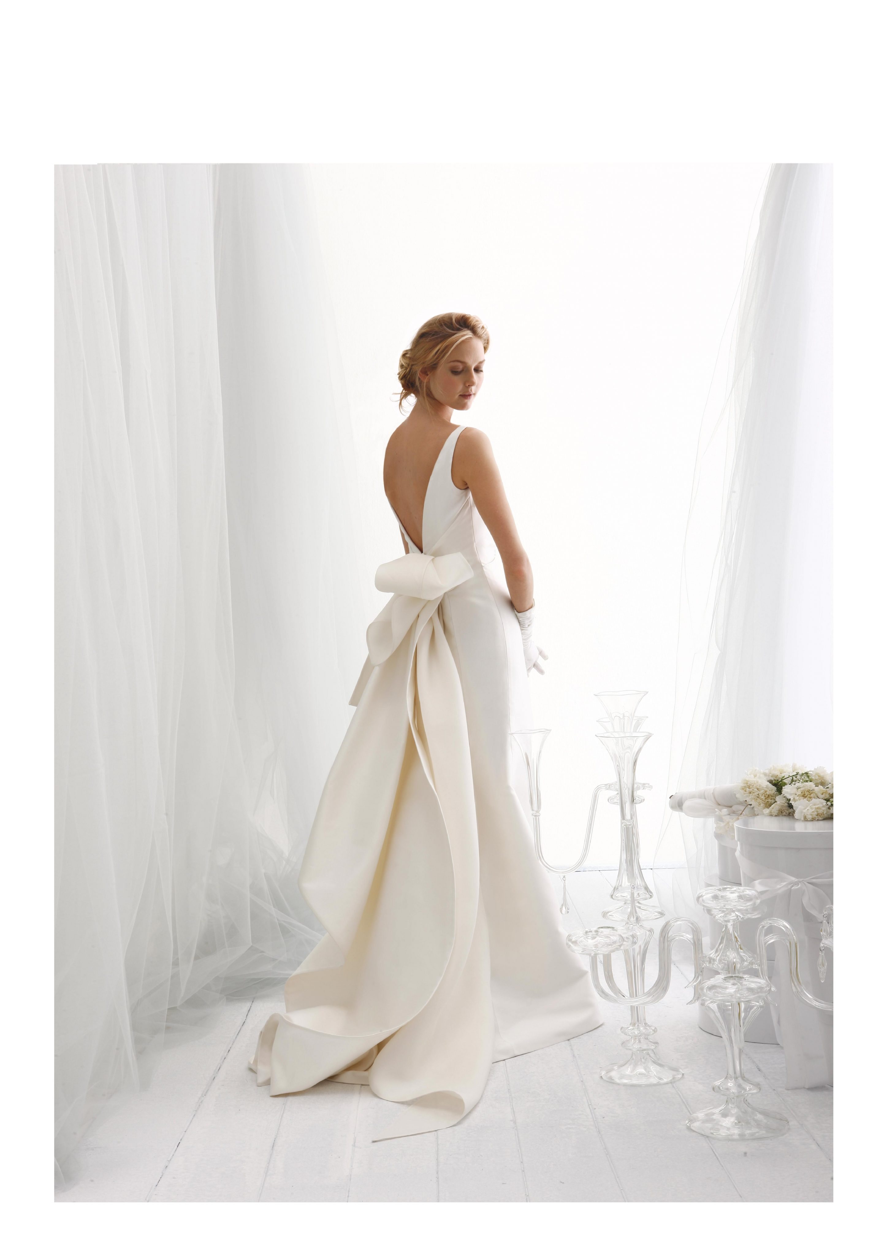 Sleeveless Fit And Flare Wedding Dress With Back Details | Kleinfeld ...