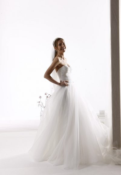 Sweetheart Neckline Strapless Ball Gown Wedding Dress by Le Spose Di Gio