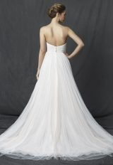Strapless Sweetheart Ruched Bodice A-line Wedding Dress by Michelle Roth - Image 2