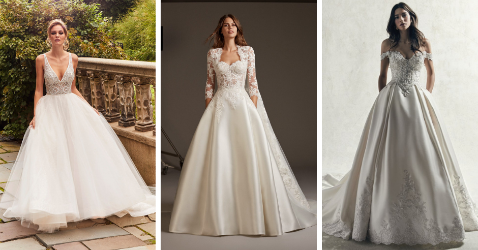 Blow Your Guest's Minds in These Jaw-Dropping Ball Gown Wedding Dresses