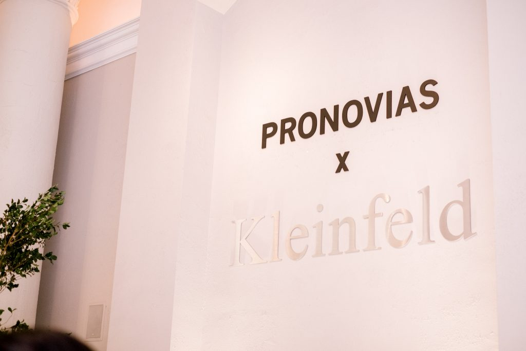 Recap: The Pronovias x Kleinfeld Launch Party