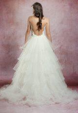 Sleeveless Lace V-neckline Mermaid Wedding Dress With Detachable Tulle Skirt by Olvi's - Image 2