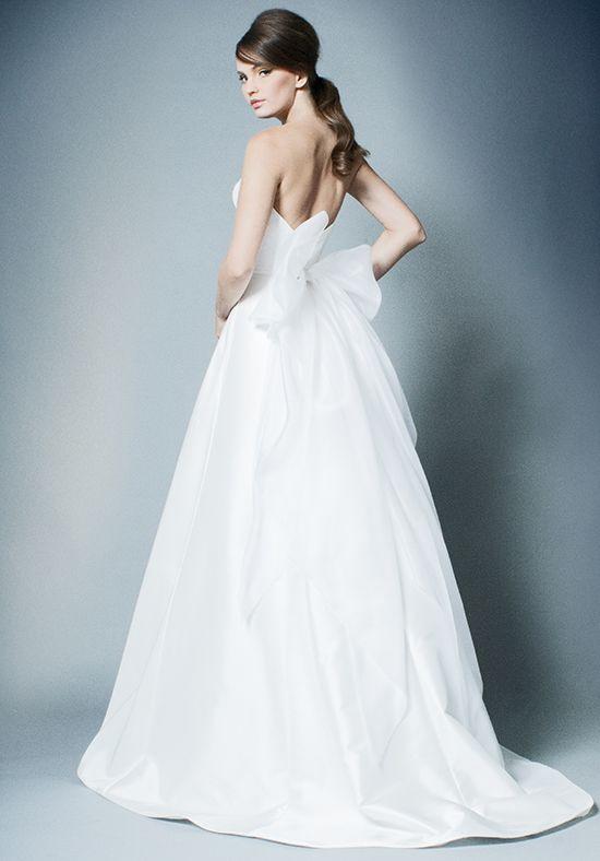 Simple Strapless A-line Wedding Dress | Kleinfeld Bridal