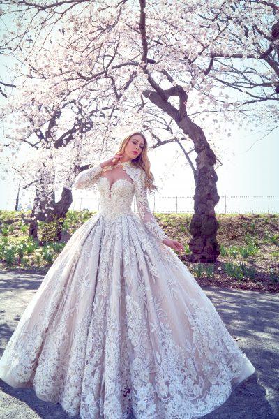 Embellished Ball Gown Wedding Dress | Kleinfeld Bridal