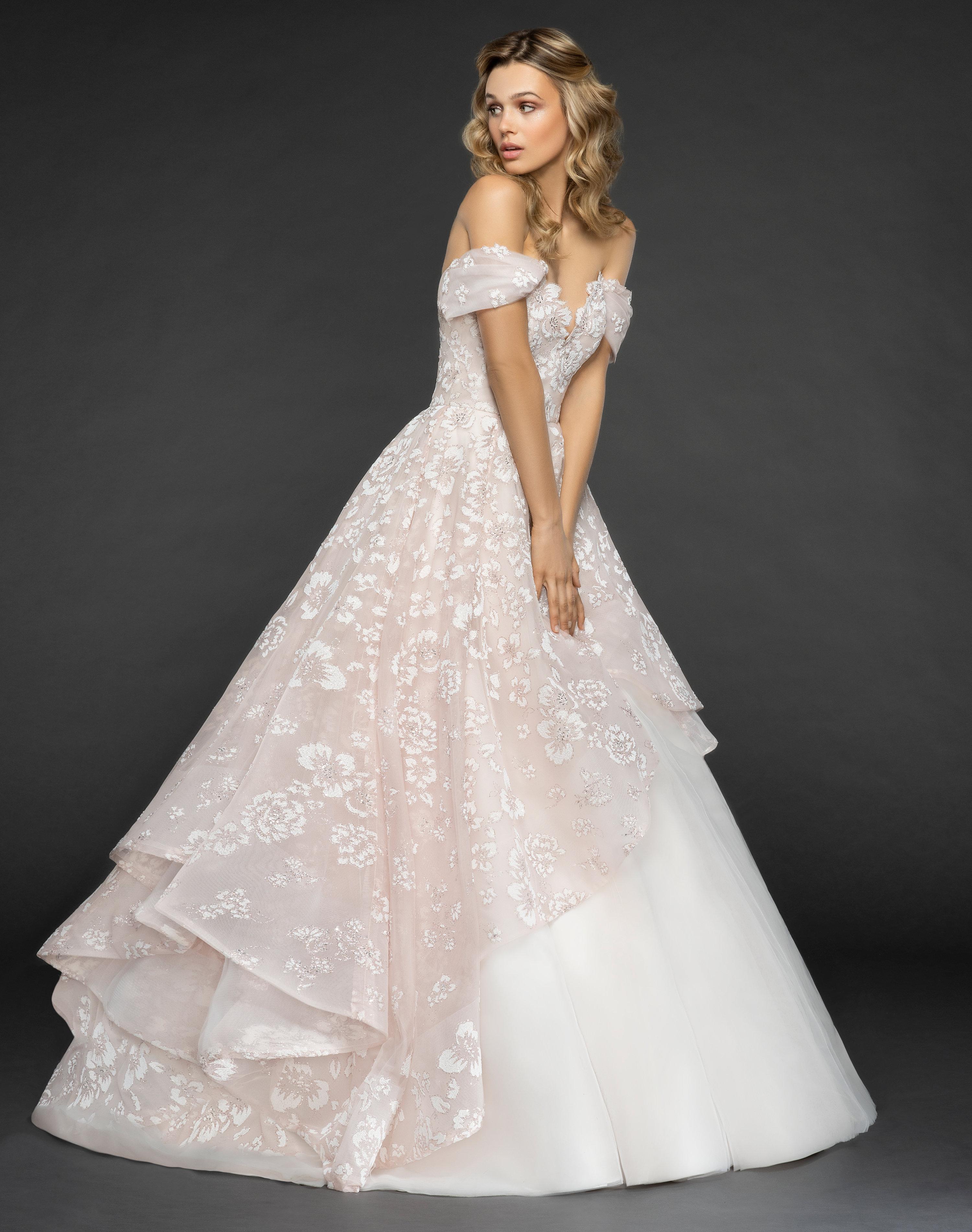 Off The Shoulder Floral Embroidered Ball Gown Wedding Dress Kleinfeld Bridal: Fancy Ball Dresses Wedding At Reisefeber.org