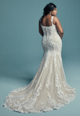 Lace Strapped Sweetheart Neckline Fit And Flare Wedding Dress by Maggie Sottero - Image 2