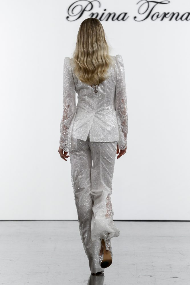 Sequined Pant Suit And Matching Jumpsuit by Pnina Tornai - Image 2