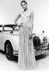 Sweetheart Neckline Fully Beaded Sheath Wedding Dress by Zuhair Murad - Image 1
