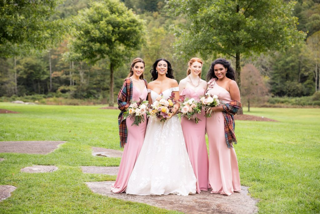 Kleinfeld & Kleinfeld Bridal Party Lonesome Valley Photoshoot—Brian Leahy Photo
