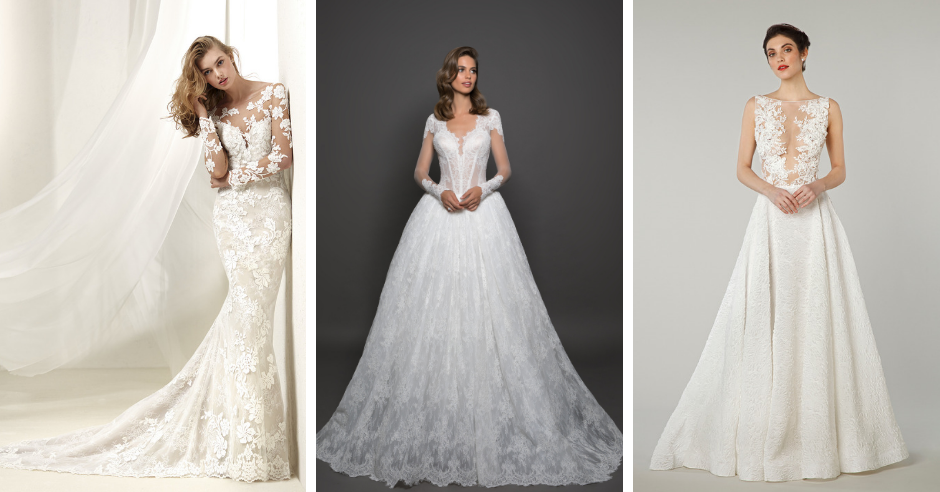Our Favorite Wintery Wedding Dresses
