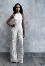 Fully Lace Open Back Jumpsuit by Madison James - Image 1
