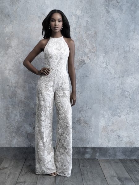 Fully Lace Open Back Jumpsuit