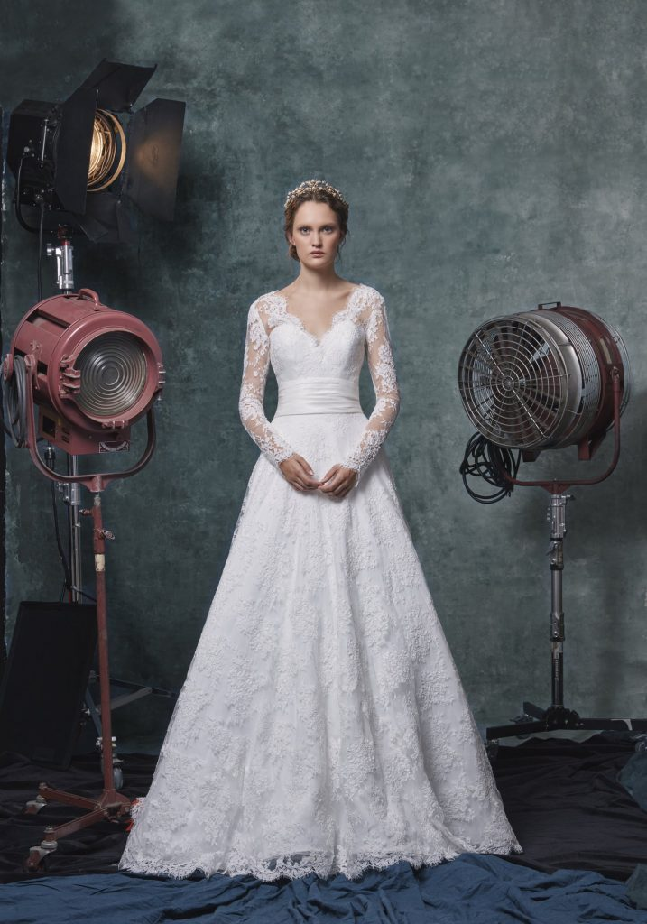 Kleinfeld's top wedding dresses for spring weddings—Sareh Nouri—SCARLET