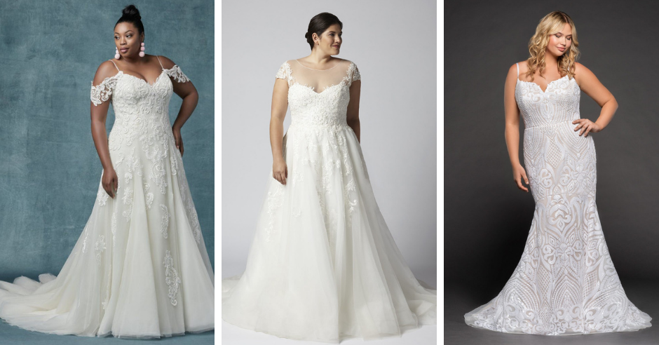 8 Plus Size Wedding Dresses You'll Absolutely Swoon Over
