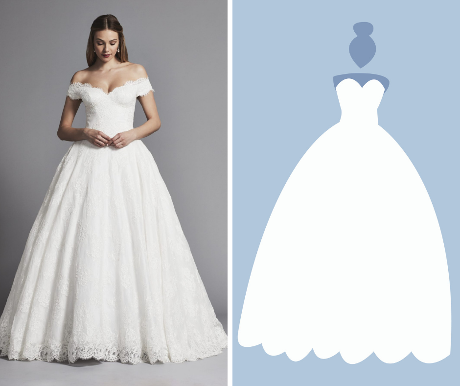 Kleinfeld Bridal has over 1,500 wedding dresses in these Silhouettes—Ball Gown
