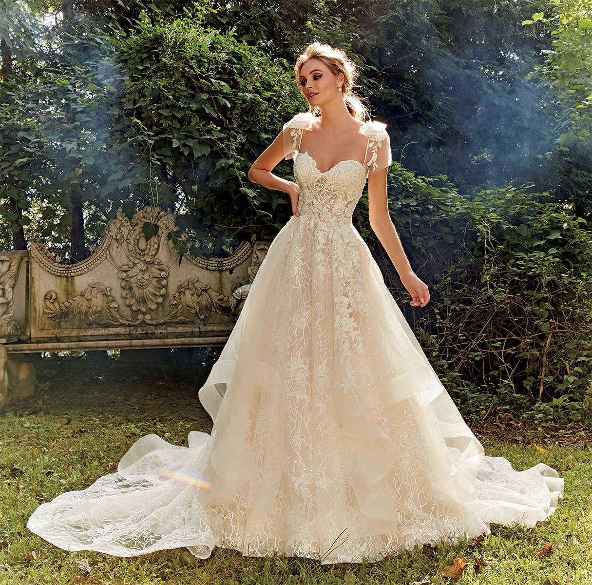 Wedding Dresess: Ball Gown Embroidered Wedding Dress