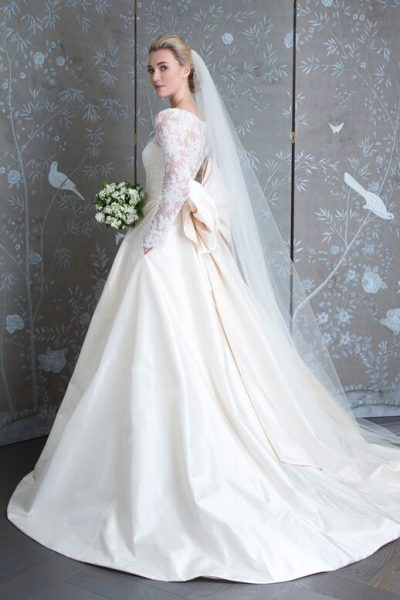 Long Sleeve Lace Ball Gown by LEGENDS Romona Keveza - Image 2