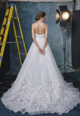 Sweetheart A-line Embroidered And Sequin Wedding Dress by Sareh Nouri - Image 2