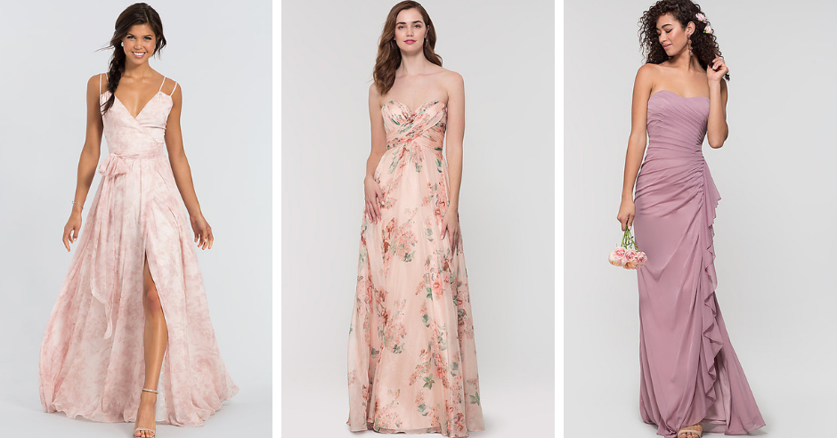 10 Bridesmaids Dresses We're Loving for Spring Weddings