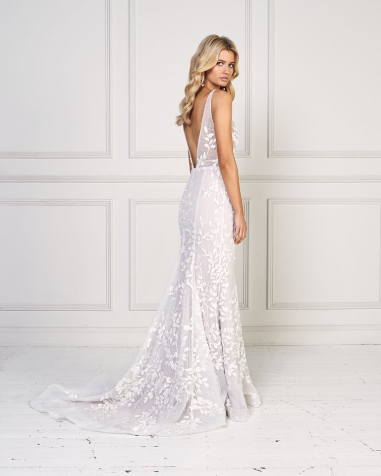 Sleeveless Fit And Flare Wedding Dress by Jane Hill - Image 2