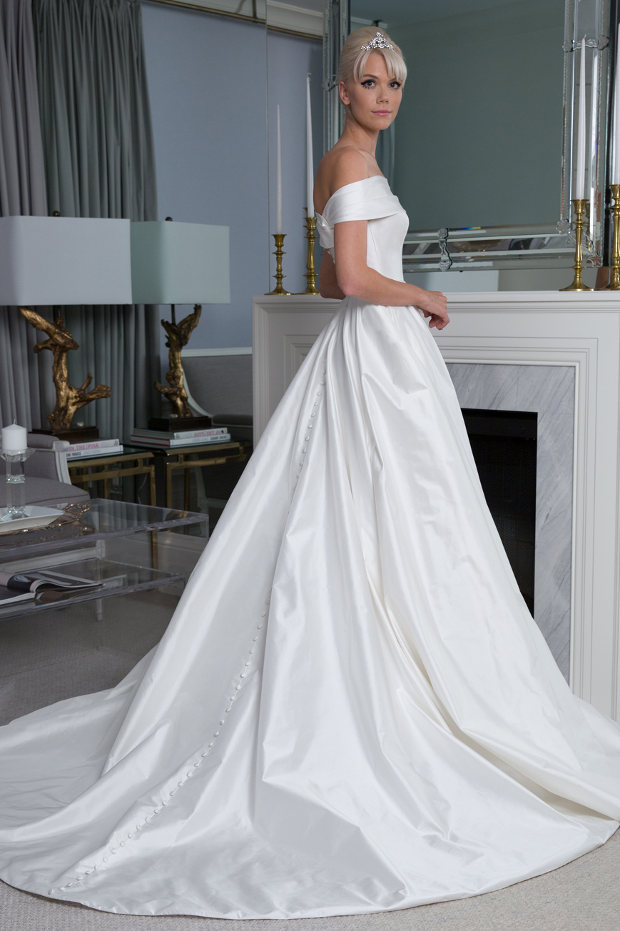 a6629a048b32 Off The Shoulder Ball Gown | Kleinfeld Bridal