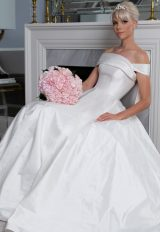 Off The Shoulder Ball Gown by LEGENDS Romona Keveza - Image 1