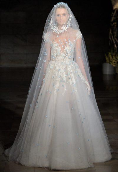 52b125652a4e Straight Neckline Sleeveless Ball Gown Wedding Dress | Kleinfeld Bridal