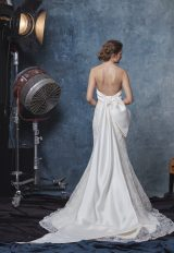 Strapless Textured Fit And Flare Wedding Dress by Sareh Nouri - Image 2