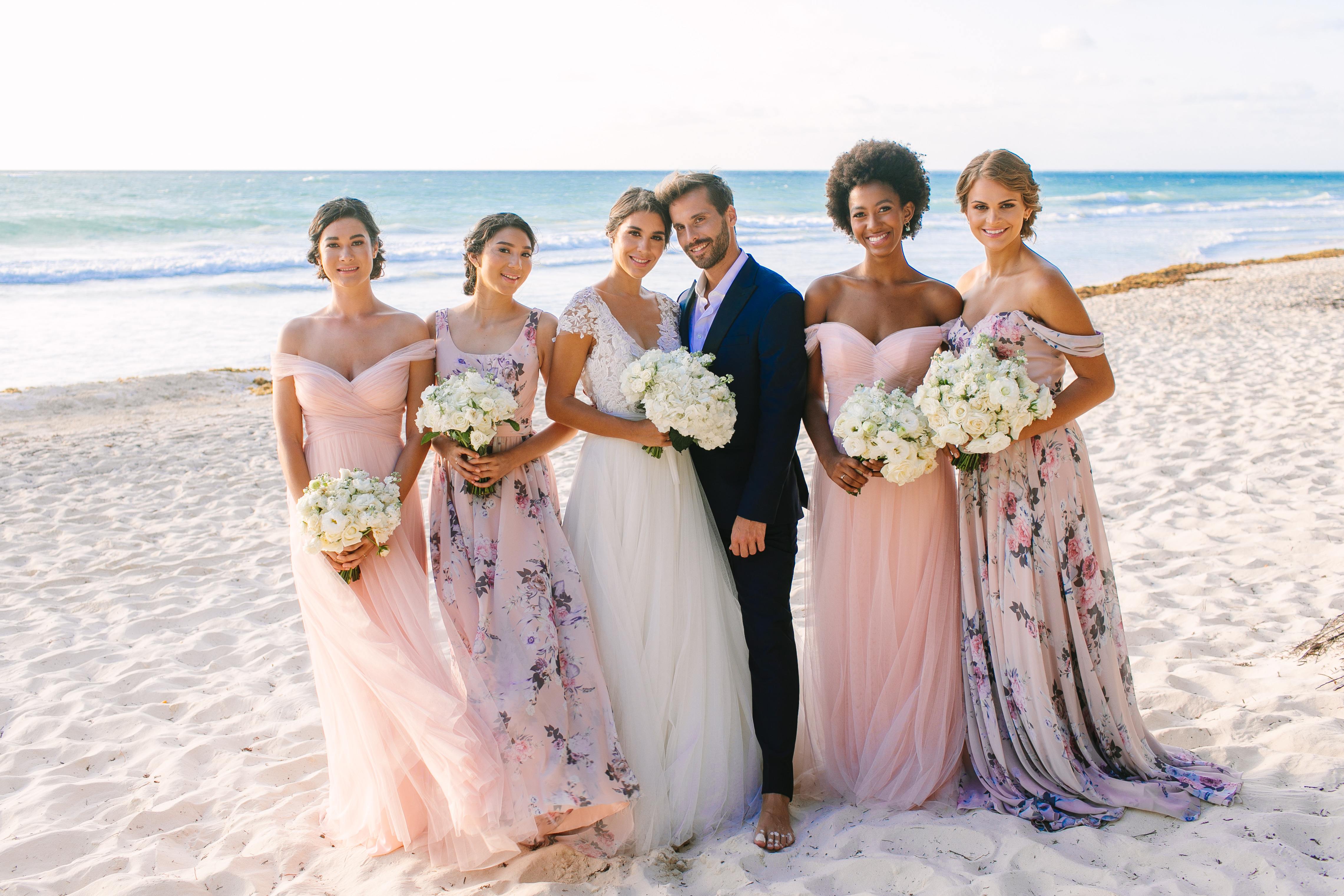 Affordable Bridesmaid Dresses Perfect For Destination Weddings