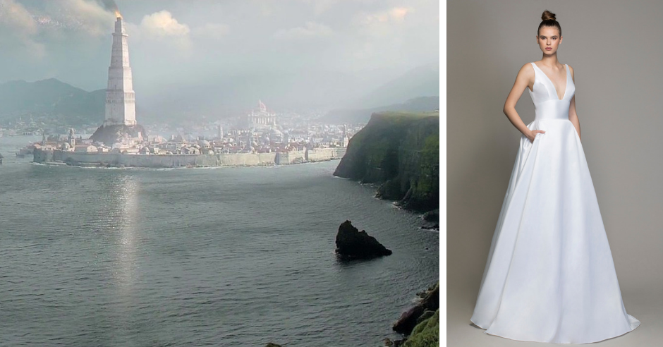 Which Game of Thrones location would you get married in? We've rounded up the 8 most popular locations in the show and paired them with brand new LOVE by Pnina Tornai wedding dresses! Photo Credit: HBO