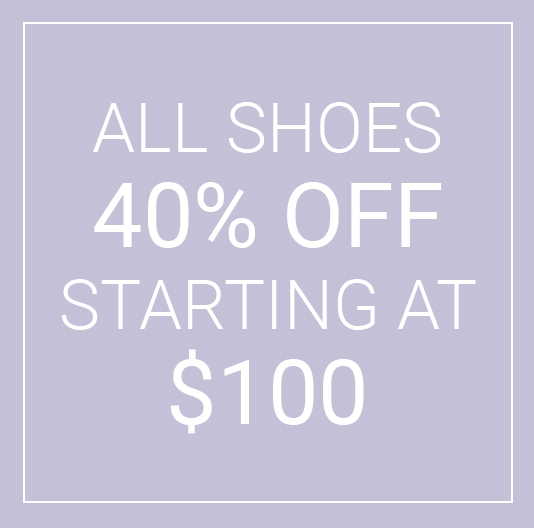 Shoe sale 40% off box