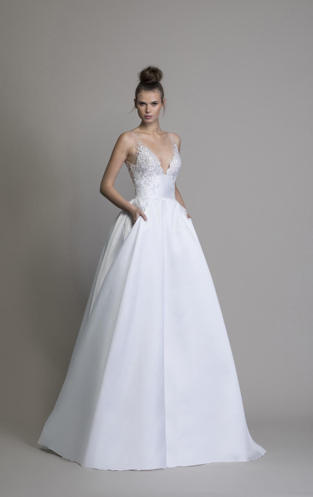 silk v neck wedding dress off 18   medpharmres.com
