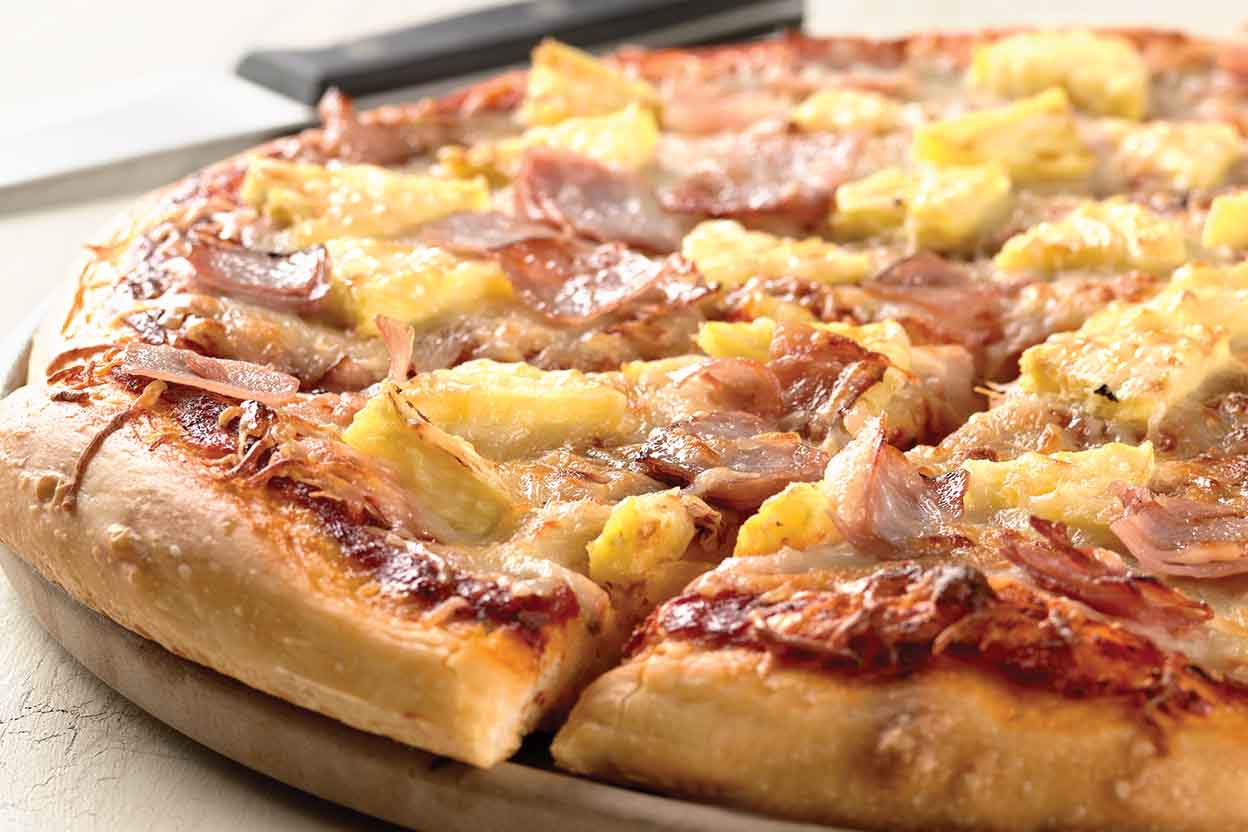 We've matched your favorite pizza flavor to a wedding dress: this match up includes Hawaiian Pizza