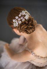 Swarovski Navette Rhinestone Crown by Justine M. Couture - Image 1