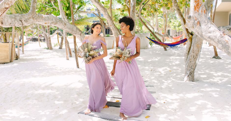 We gathered our favorite bridesmaids dresses for summer weddings from Kleinfeld Bridal Party, which include strapless bridesmaids dresses, blush bridesmaids dresses, and more!