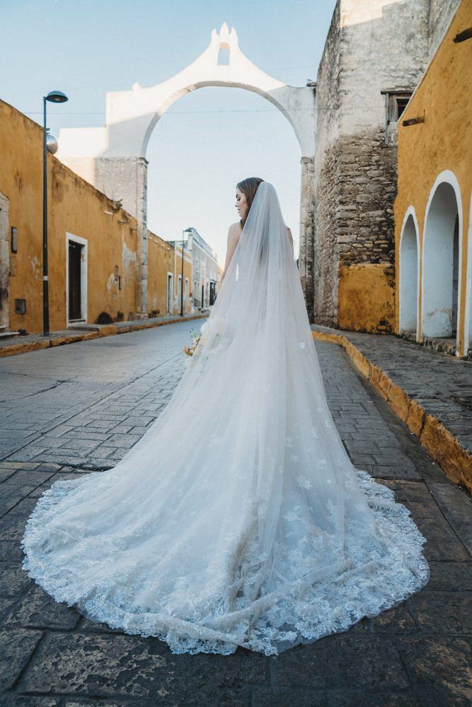 Strapless Beaded Shimmer Ball Gown by Allure Bridals - Image 2