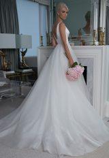 V-neck Silk Organza Wedidng Dress by LEGENDS Romona Keveza - Image 2