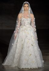 Sweetheart Lace Ball Gown by Reem Acra - Image 1