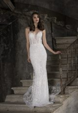 Embroidered Lace Sweetheart Mermaid Wedding Dress by Tony Ward - Image 1