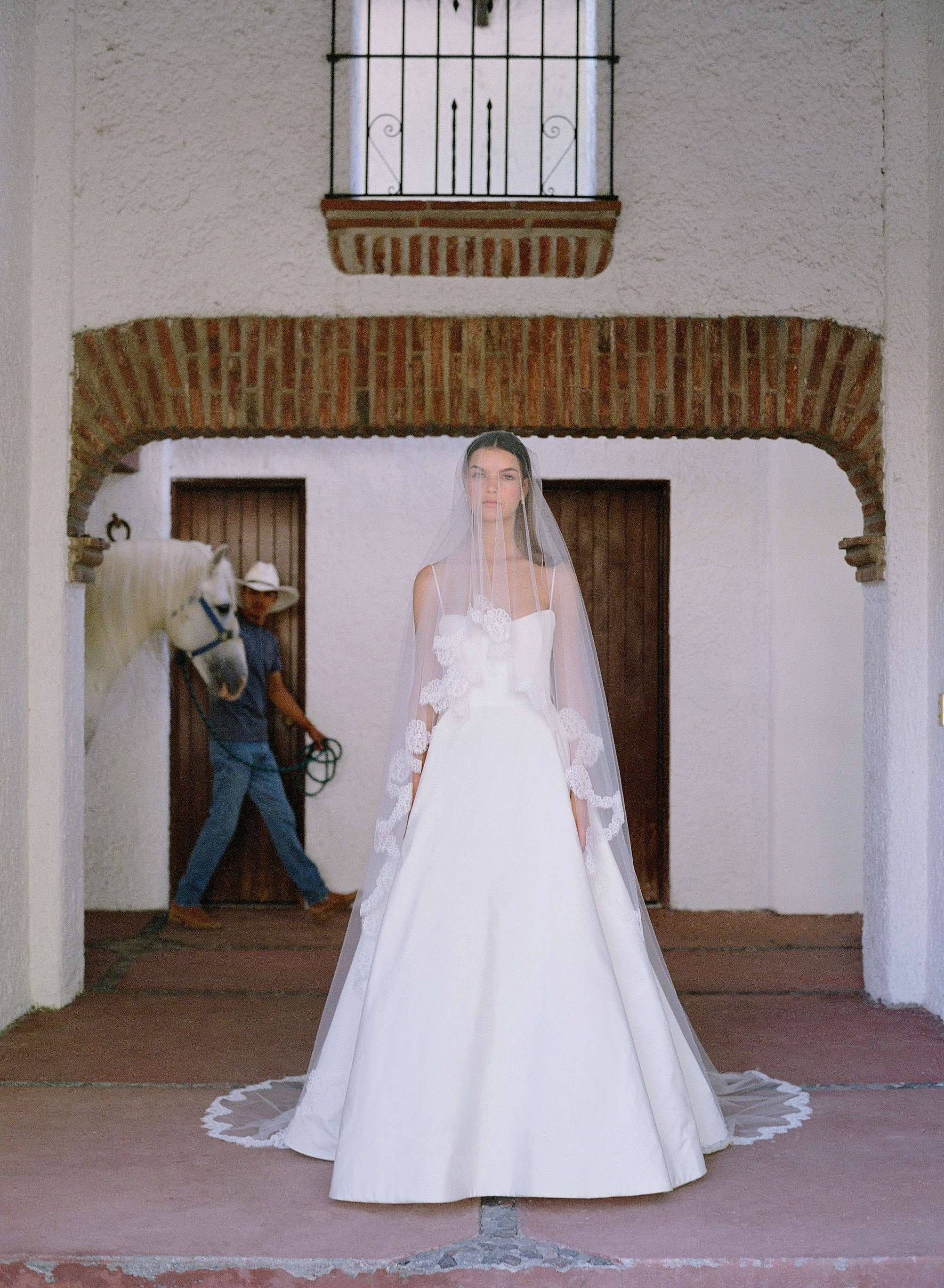 #KleinfeldEditorial We took our newest wedding dresses, bridesmaids dresses and flower girl dresses from Kleinfeld Bridal and Kleinfeld Bridal Party down to the Hacienda San Antonio in Colima Mexico for a stunning editorial photoshoot—here is all the destination wedding venue inspiration you need!