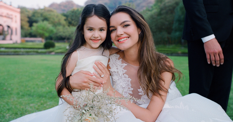 "Adorable Flower Girl Inspo That'll Make You Say ""Aww"": #KleinfeldEditorial We took our newest wedding dresses, bridesmaids dresses and flower girl dresses from Kleinfeld Bridal and Kleinfeld Bridal Party down to the Hacienda San Antonio in Colima Mexico for a stunning editorial photoshoot—here is all the adorable flower girl inspiration you need to get the perfect photos from your photographer!"