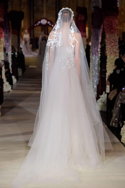 Strapless Tulle A-line Wedding Dress by Reem Acra - Image 2