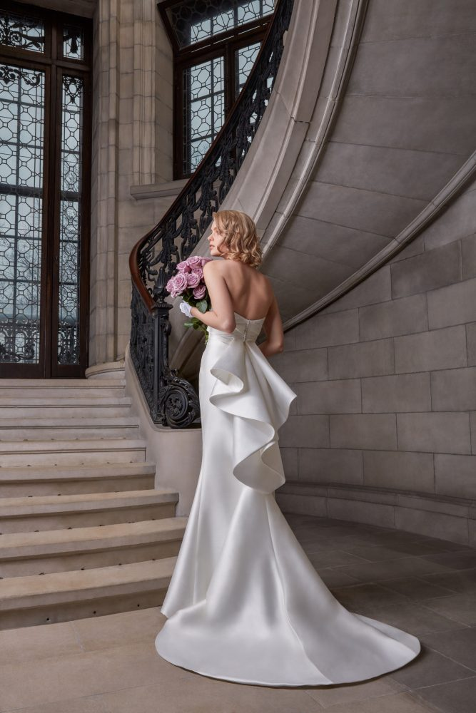 Strapless Fit To Flare Wedding Dress by Sareh Nouri - Image 2