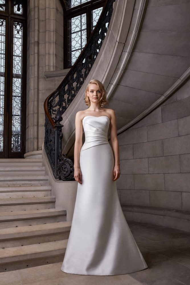 Strapless Fit To Flare Wedding Dress by Sareh Nouri - Image 1