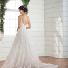 V-neck tulle ball gown wedding dress by Essense of Australia - Image 2
