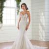 Strapless sweetheart mermaid wedding dress by Essense of Australia - Image 1