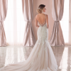 Spaghetti Strap Lace Mermaid Wedding Dress by Stella York - Image 2